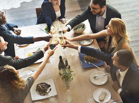 Catering Diner voor je bedrijfsfeest